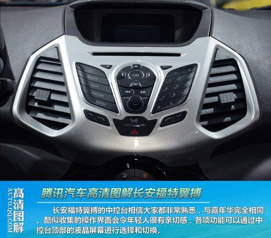 长安福特小型SUV翼搏正式发布高清图片