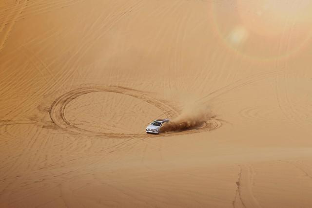 比亚迪全新一代SUV沙漠测试谍照曝光