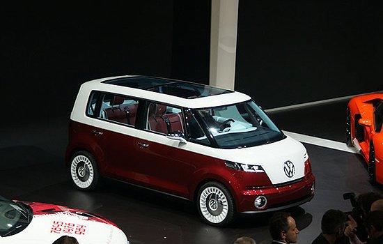 或2014年量产 大众发布Bulli MPV概念车