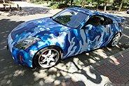 日产350z蓝迷彩改装记