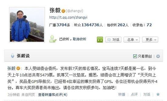 宝马七日蝉联第一名 首批GPS大奖已公布
