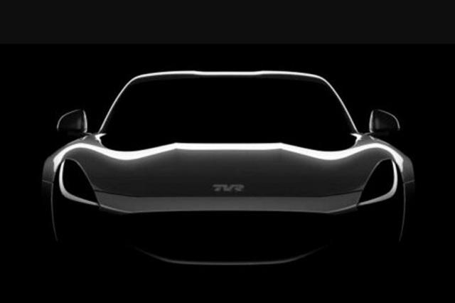 超级跑车即将亮相 TVR全新车型最新预告图