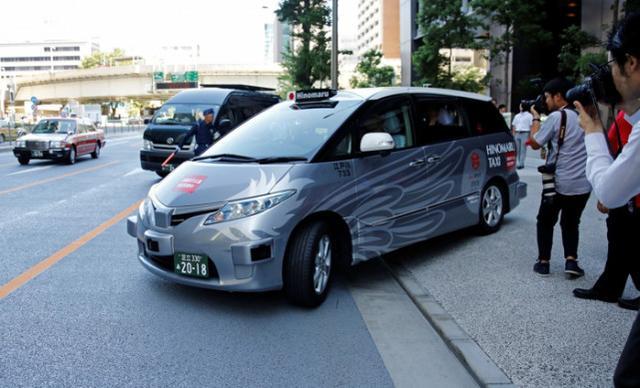 自动驾驶出租车亮相东京街头 5公里车费92元