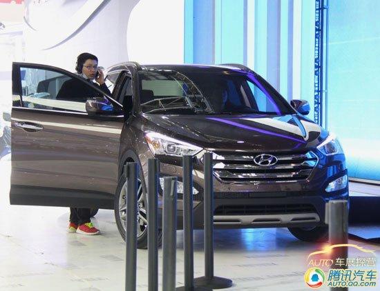 [北京车展探营]现代全新胜达亮相展台