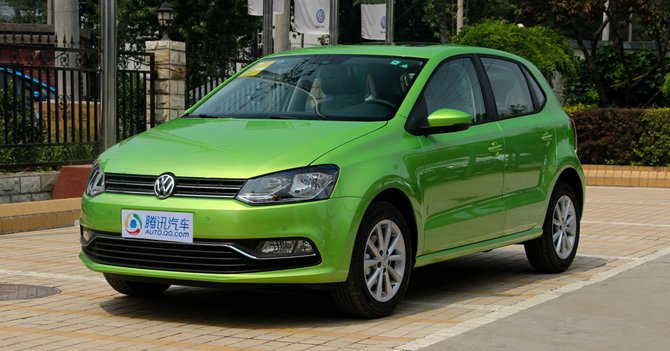 [新车实拍]上海大众全新POLO实拍 配置升级