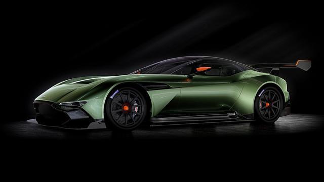 限量版超级跑车 阿斯顿马丁vulcan即将问世高清图片