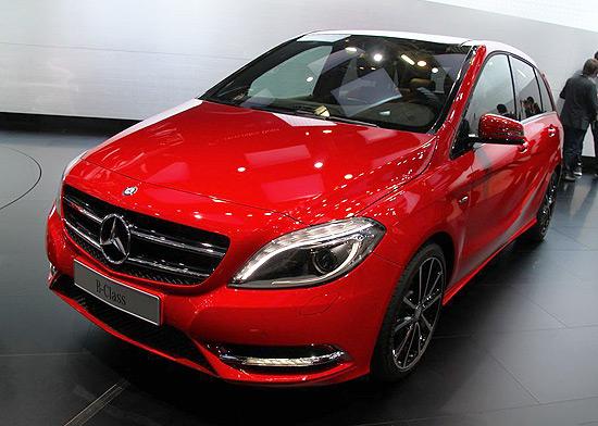 [新车上市]奔驰全新B级上市 售27.80万元起