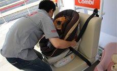 儿童座椅安装体验