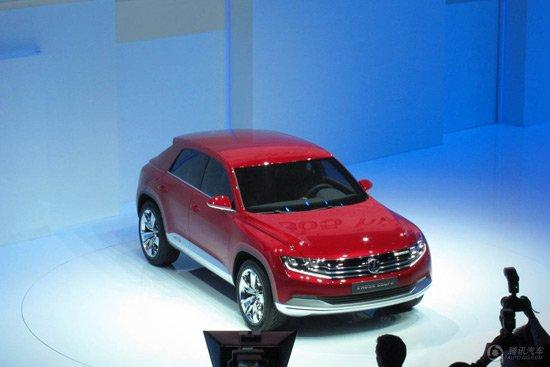 大众Cross Coupe柴油插电式混动概念车亮相