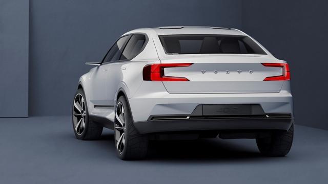 沃尔沃两款全新概念车官图 预览新XC40/S40