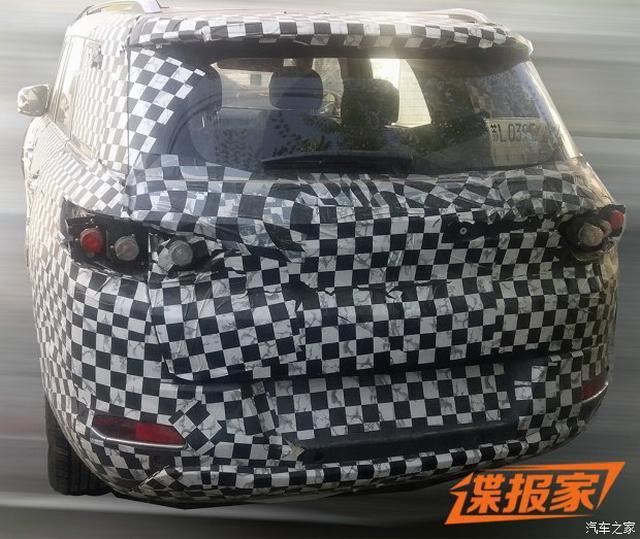 会成为下一个战狼吗? 北京汽车全新SUV谍照