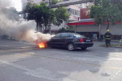 下场雨汽车竟自燃 你绝对想不到是因这零件