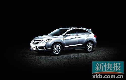 讴歌首款五座跨界SUV车型RDX将于9月上市