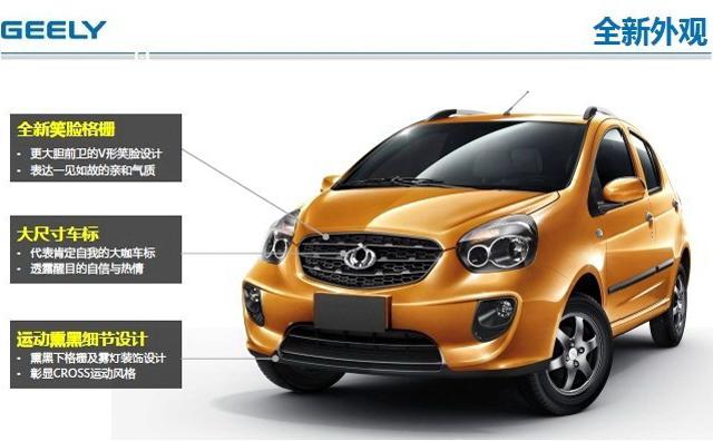 熊猫CROSS或3月上市 推4款车型