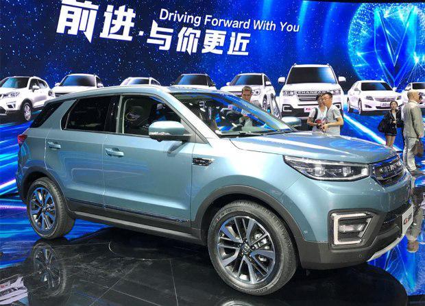 长安CS55上海车展正式发布