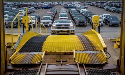 为新车准备 通用美国数工厂将停产10周