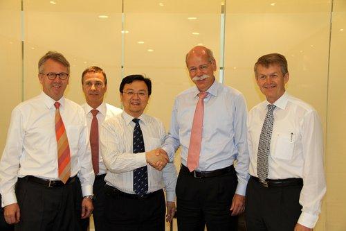 比亚迪戴姆勒建合资公司 2013推新电动车