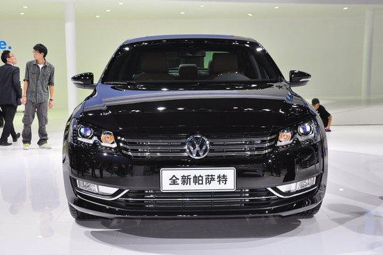 2013款帕萨特广州车展上市 售19.48万元起
