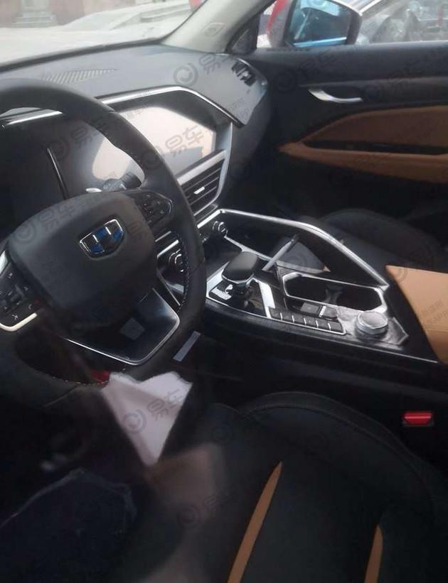 吉利FY11无伪装谍照曝光 轿跑SUV设计/配2.0T发动机