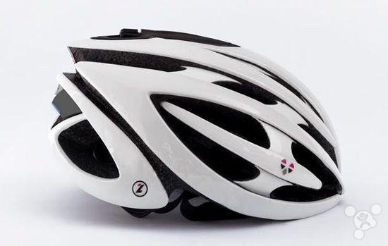 """全球首款""""智能""""自行车头盔即将开售"""