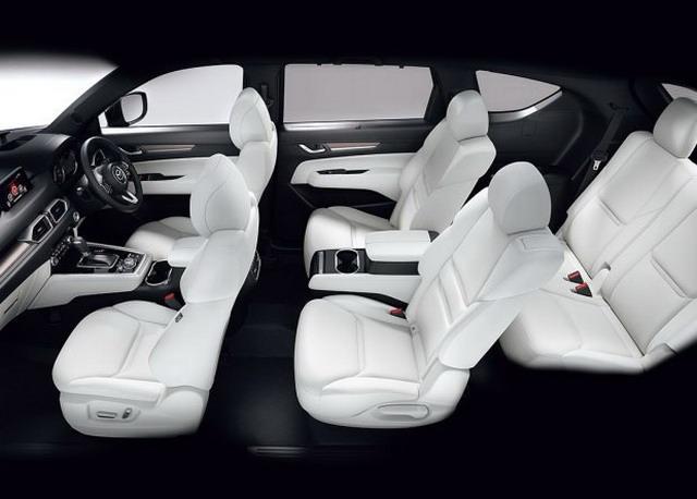 两种座椅布局 长安马自达CX-8谍照首曝