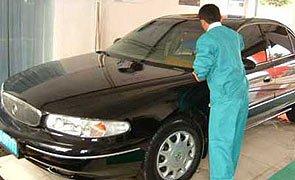 定期保养车辆