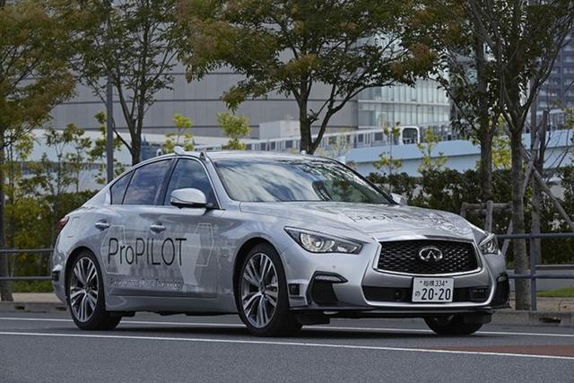 日产全自动汽车已在日本上路测试