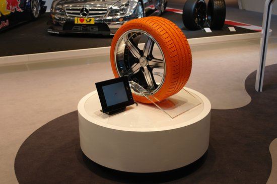 韩泰轮胎携DTM专用胎亮相法兰克福车展