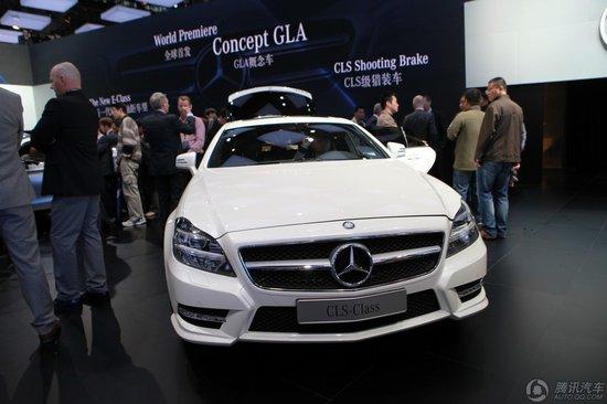 奔驰CLS猎装版车展上市 售价91.8-96.8万