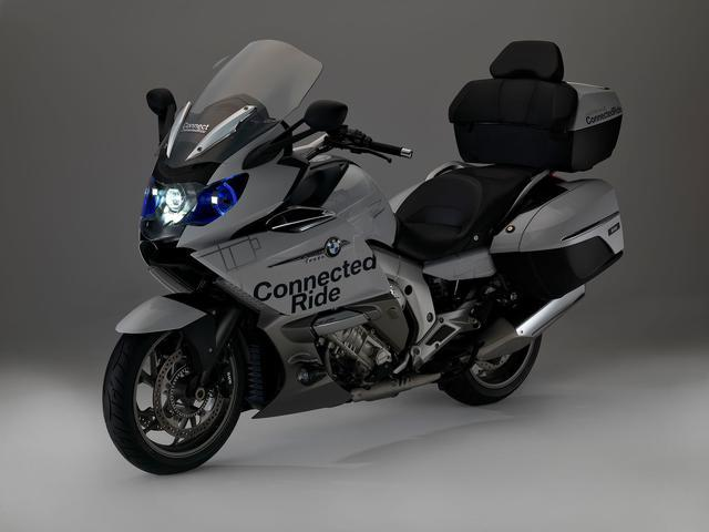 BMW珍马摩托车最新颁布匹设备激光父亲灯的K16