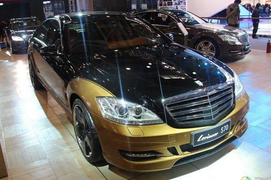 劳伦士458万S70亮相北京车展 售价堪比超跑