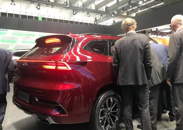 奇瑞全新车型系列EXEED公布 或于明年上市