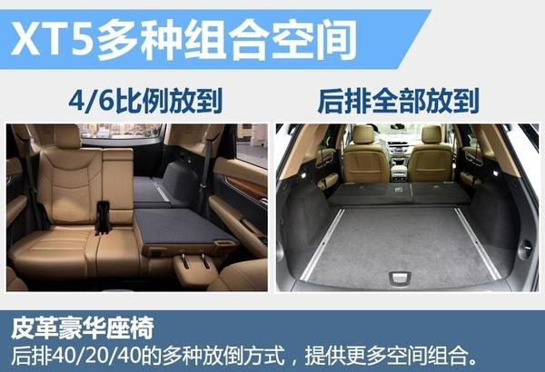 凯迪拉克XT5对比进口车 售价下调8万元