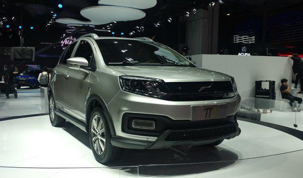 云度新能源π1上海车展正式发布