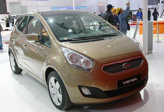 [新车解析]起亚Venga 紧凑型MPV有望国产