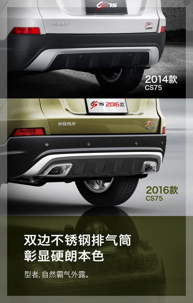 长安2016款CS75上市 售价9.28-13.98万元