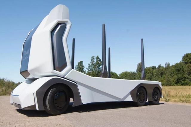 [聚合]卡车终极形态现身?瑞典公司Einride推出新型自动