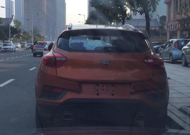 吉利帝豪S7无伪实车曝光 今年二季度发布
