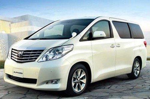 丰田豪华MPV车型ALPHARD 月底进口上市