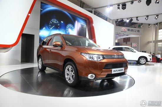 [国内车讯]三菱新欧蓝德将于明年1月上市
