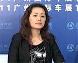 访上汽荣威经理崔雅丽