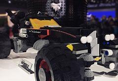 34万块积木!雪佛兰造了一辆1:1乐高版蝙蝠车