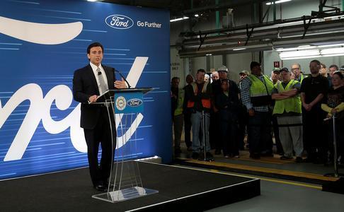 福特美国工厂投资3.5亿美元 SUV和自动驾驶并重