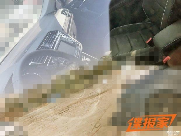 上汽大众新途观实车曝光 广州车展亮相