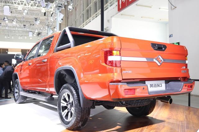 尊贵版驾临北京车展 国产美式皮卡黄海N3增配迎高端进化