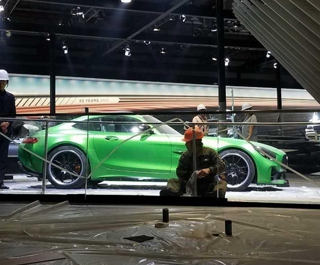 上海车展探营:奔驰AMG GT R车型现身展馆