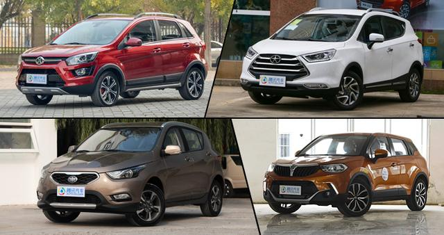 8万元买自动档SUV 四款时尚自主小型SUV推荐