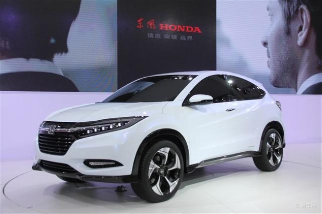 曝东风本田小型SUV实车 或命名为XR-V