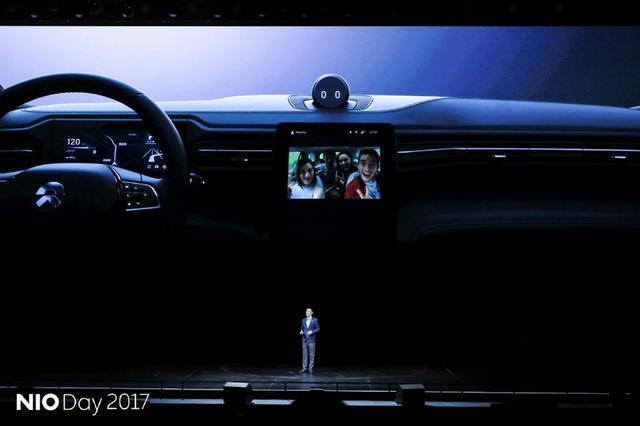 蔚来ES8独家系统揭秘 汽车人工智能首次应用