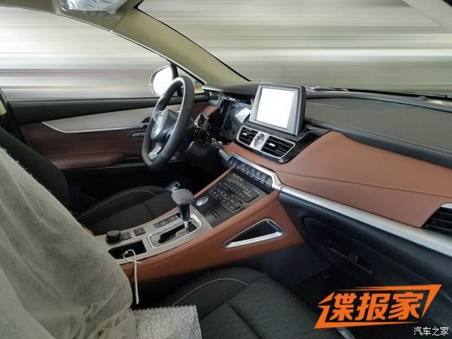 全新跨界SUV 比速T6最新谍照曝光